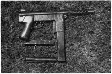 Machine Pistol Bolt - 9mm Machine Pistol