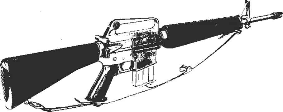 M16 Rifle Lower Receiver Diagram