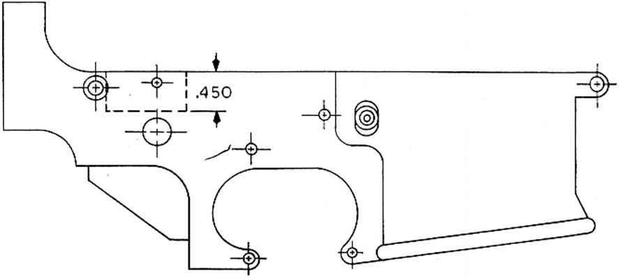 M16 Receiver Drawings