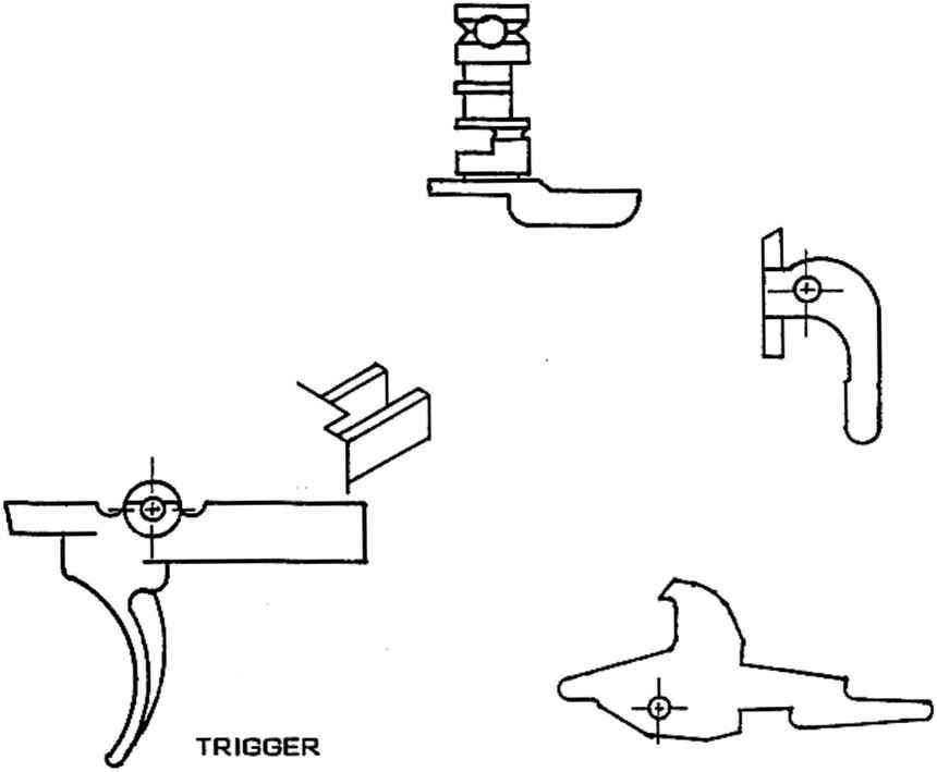 m16 full auto blueprint