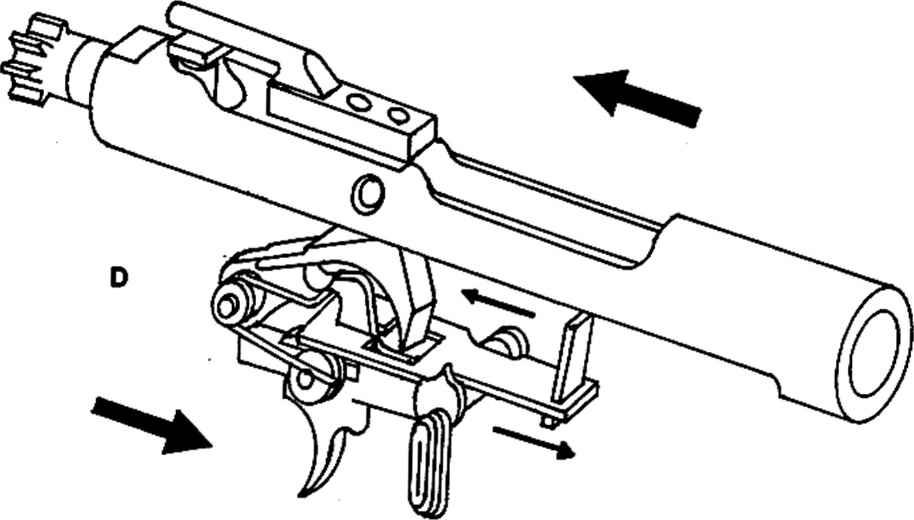 m16 auto sear diagram