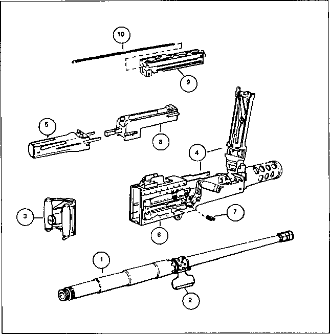 M2hb Machine Gun Plans