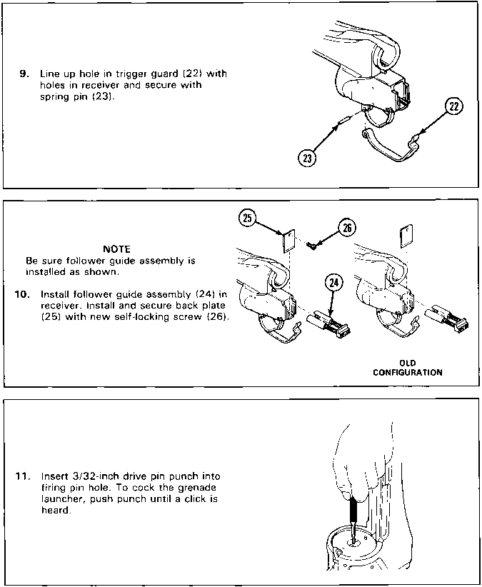 Receiver Assemblymaintenance Instructions Cont Reassembly