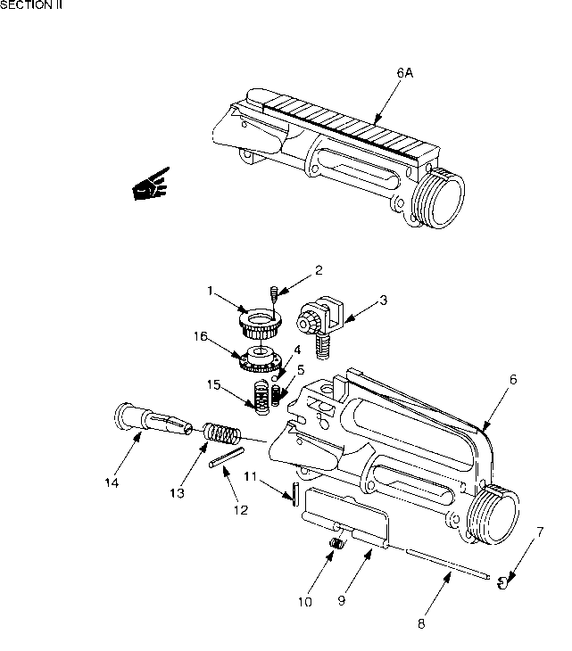M4a1 Disassembly