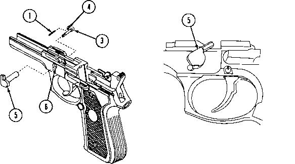 beretta m9 trigger spring
