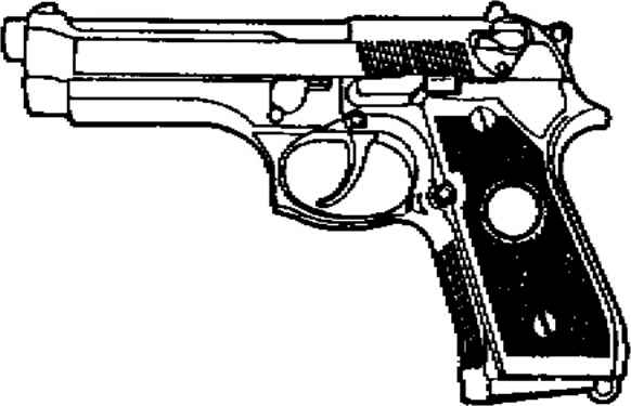 beretta 9mm drawings