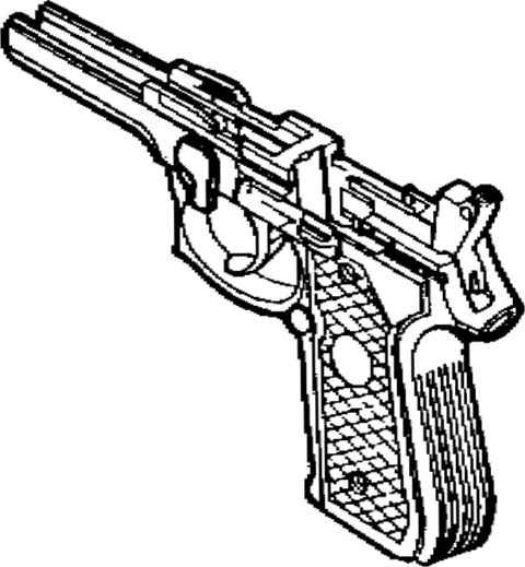 Parts Of A Semi Automatic Pistol