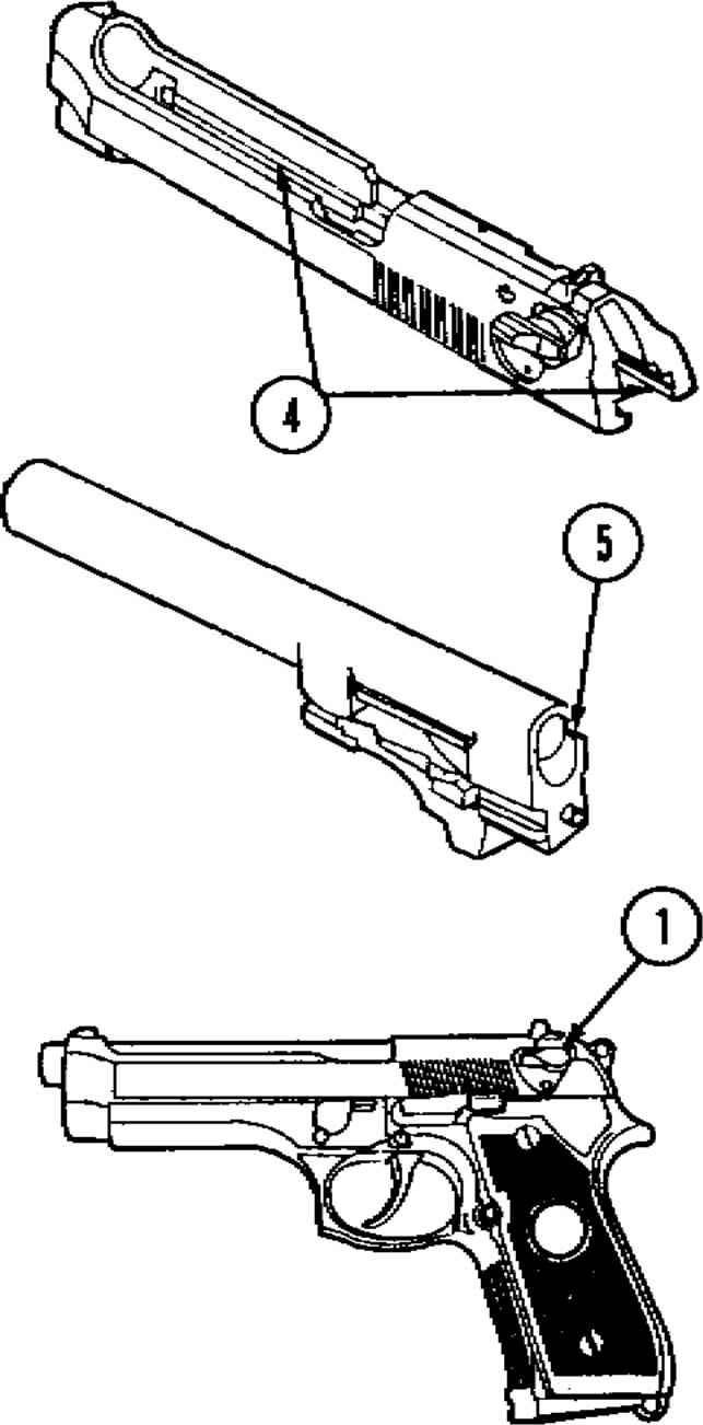 beretta 92 extractor