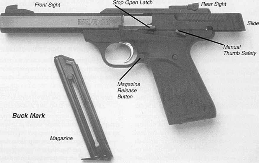 Responsible For Firearms Safety Browning Buck Mark 22 Pistol