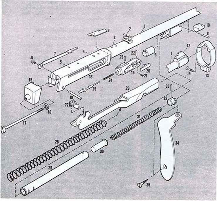 Waaine Catch - Firearms Assembly - Bev Fitchett's Guns Magazine