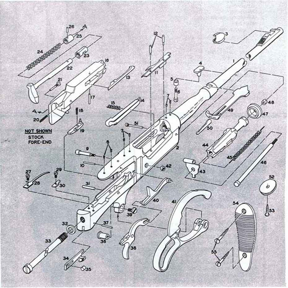 Marlin 30 Parts Diagram Wiring Diagrams Model 336 How To Replace The Fireing Pin On Wichester Firearms Aw