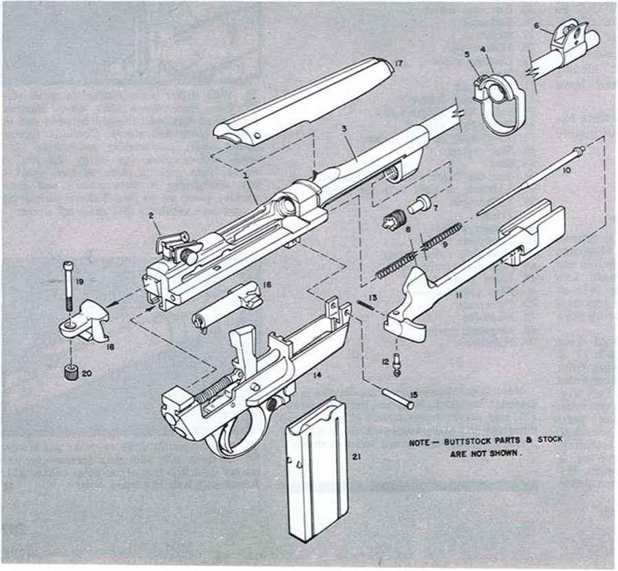 U S Model Rifle Enfield - Firearms Assembly