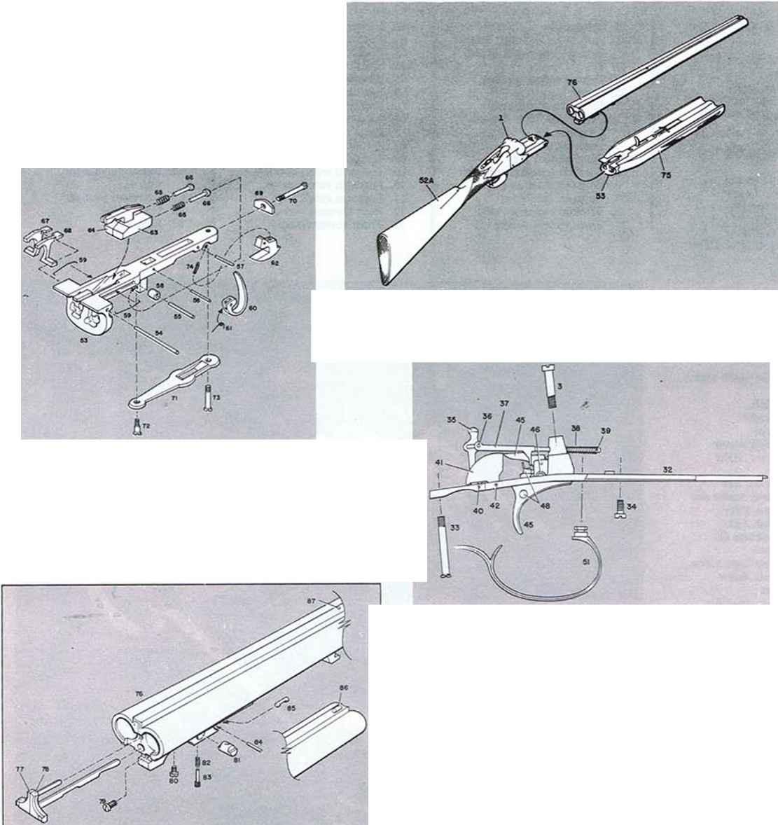 Winchester Shotgun Firearms Assembly Bev Fitchett S