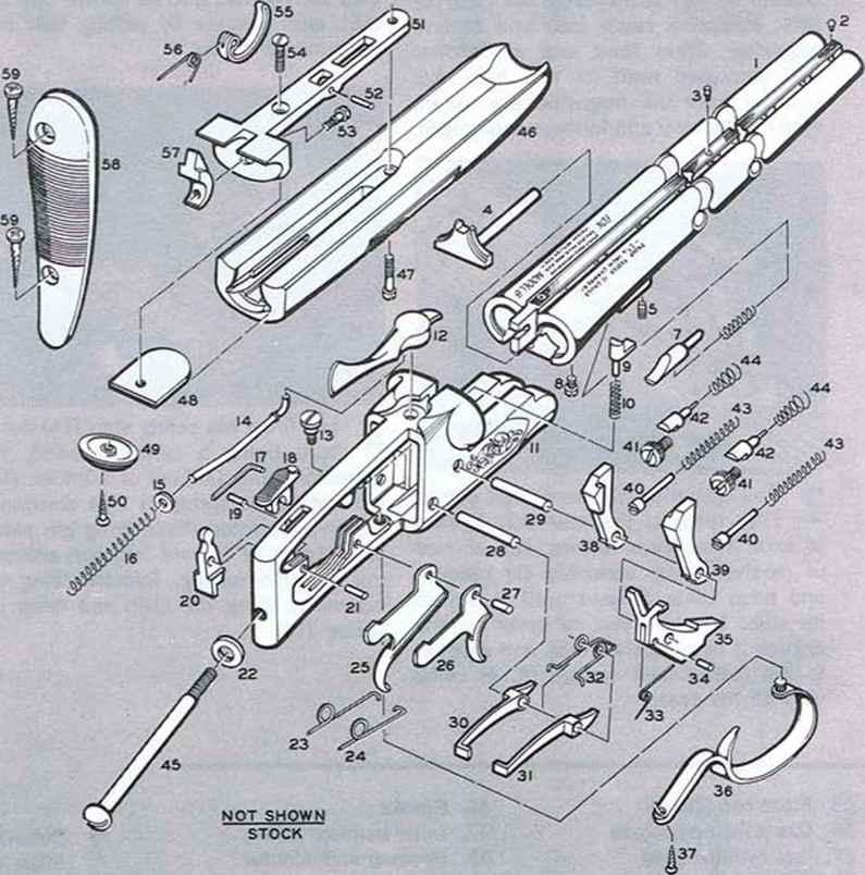 Remington Shotgun Parts Diagram Free Wiring Diagram For You