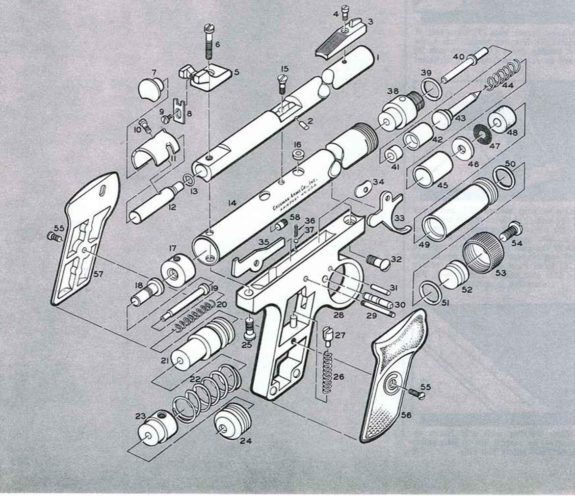 Crosman Firearms Assembly Bev Fitchett S Guns Magazine
