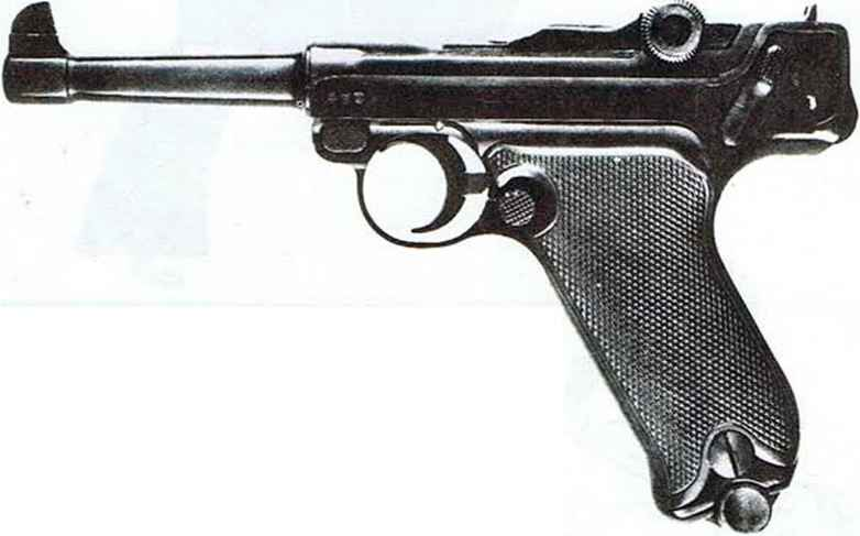 Luger Pistols Mechanisms