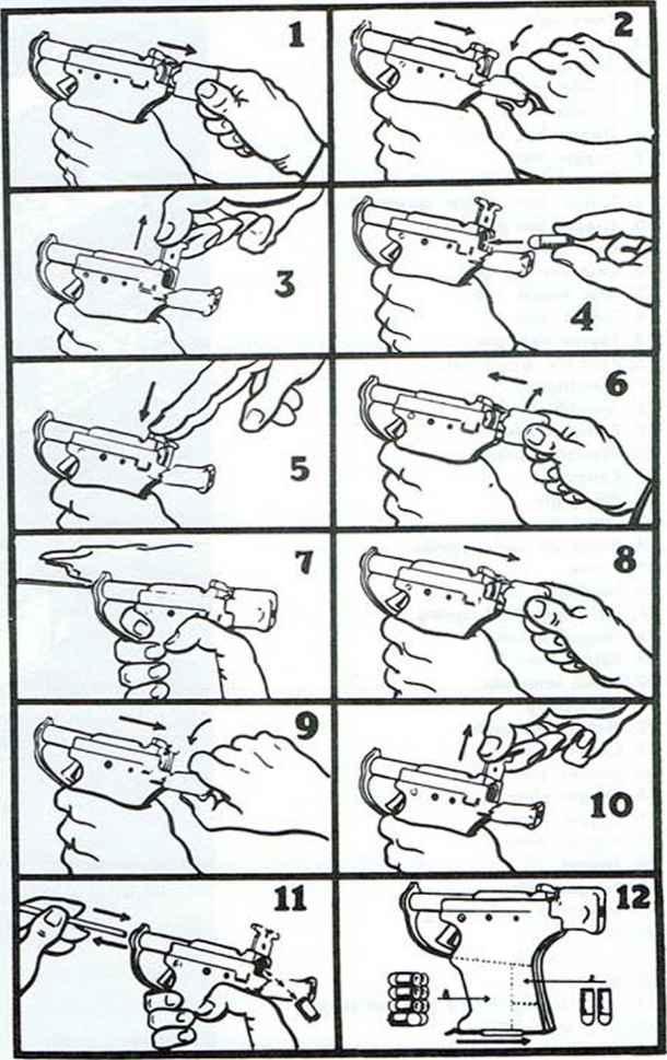 liberator pistol - firearms assembly