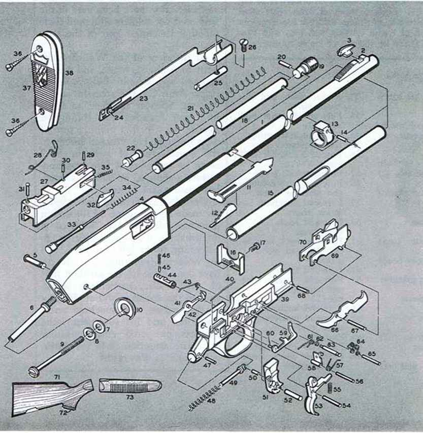 J C Higgins Model Rifle - Firearms embly Jc Higgins Model Shotgun Schematics And Diagrams on