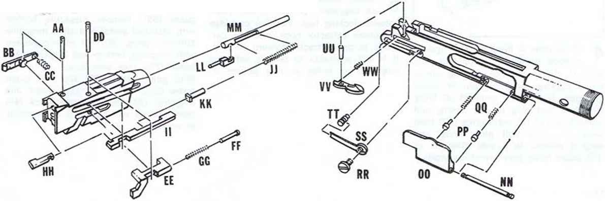 The Bolt Or Breechblock Safety Diagram Firearms Assembly