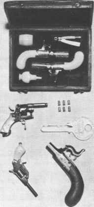 Birmingham Double Barreled Pistol