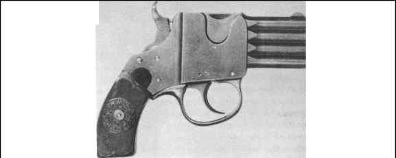 French Folding Trigger Pistol