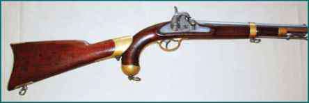 1842 Rifle Pistol Shoulder Stock