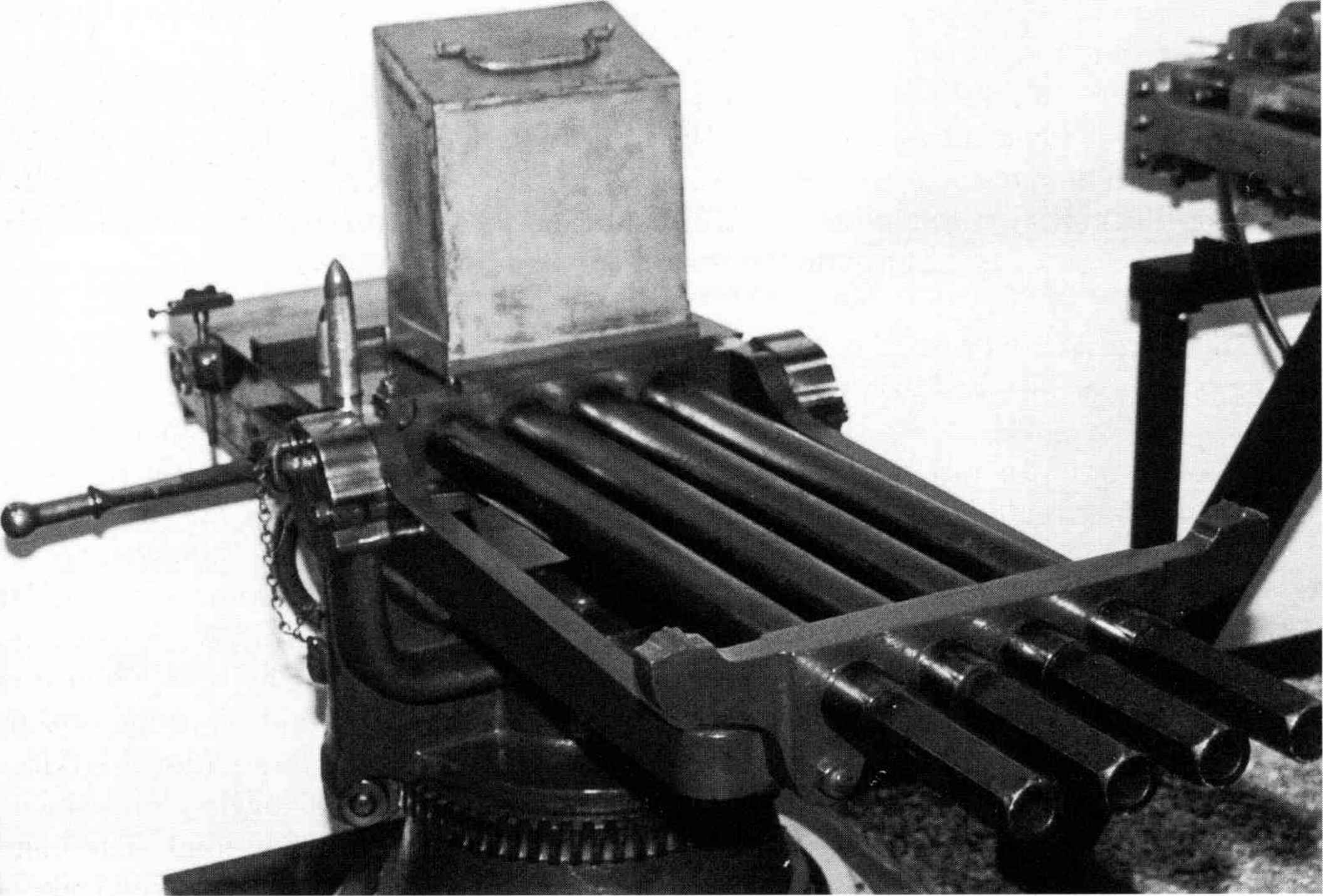 barrel machine gun
