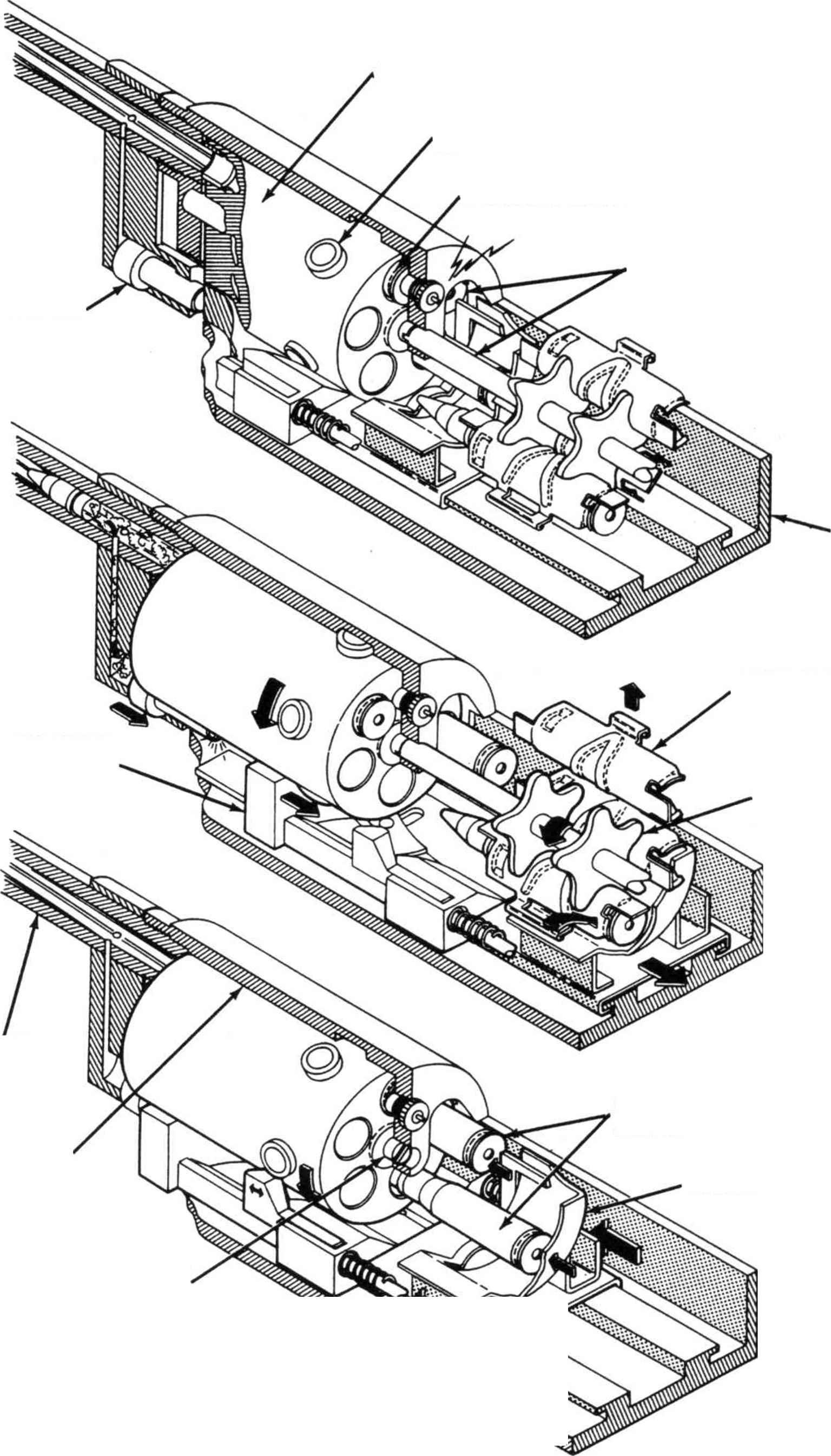 revolver cannon - heavy machine guns