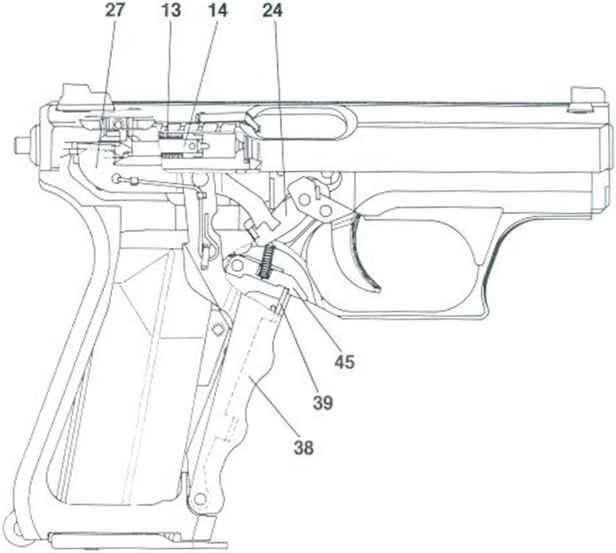 functioning hk p7 m 13 pistol bev fitchett's guns magazine 9mm Pistol Parts 9mm pistol parts 9mm pistol parts