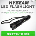 Free Hybeam Tactical Flashlight Converts 14.49 Percent - Survival Life