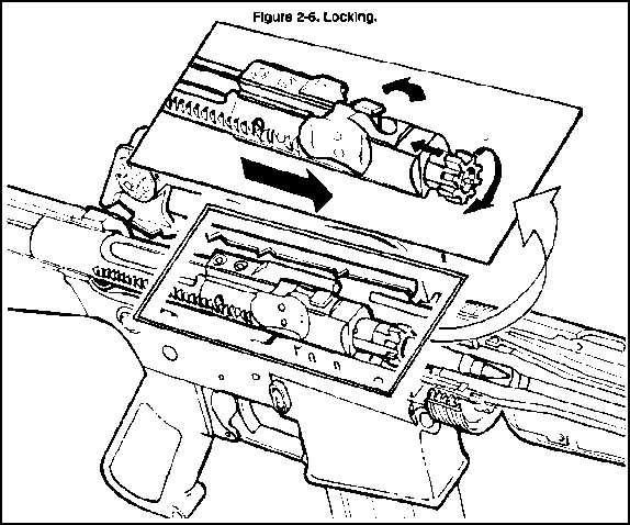 Rifle Hammer Line Drawing