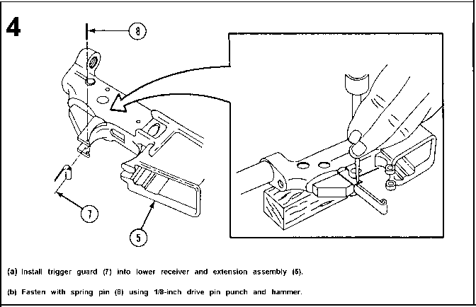 M16 Lower Receiver Blueprints