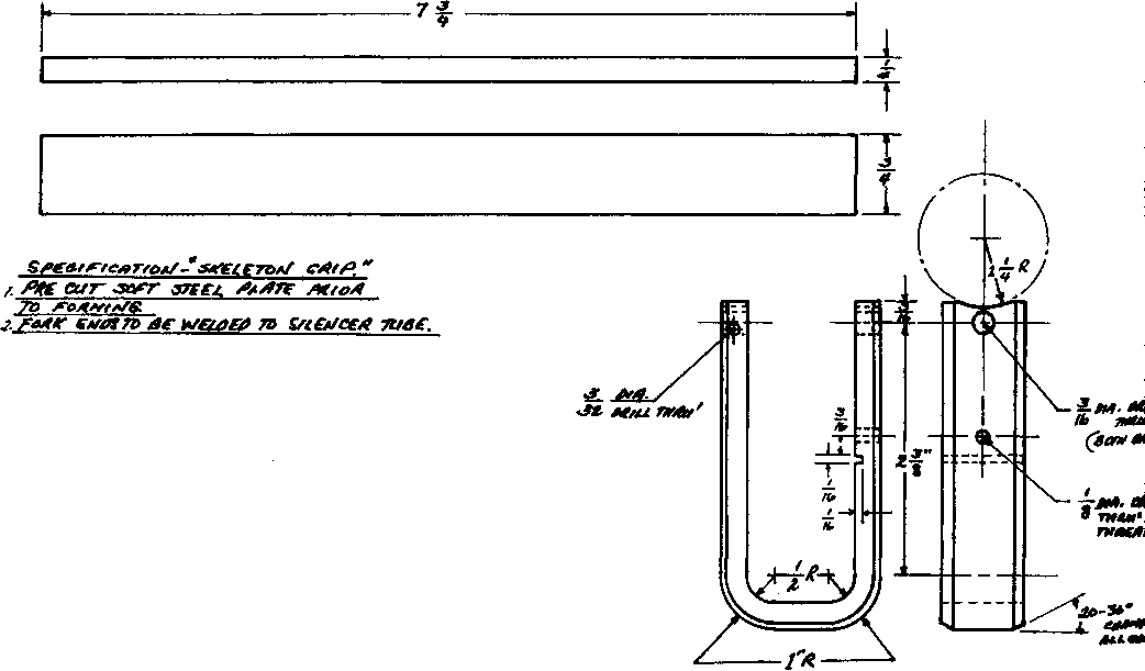 Sine Bar Rifling Machine Plans