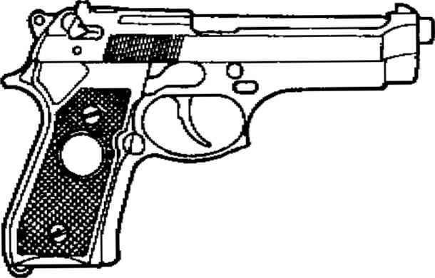 Parts 9mm Pistol And Draw