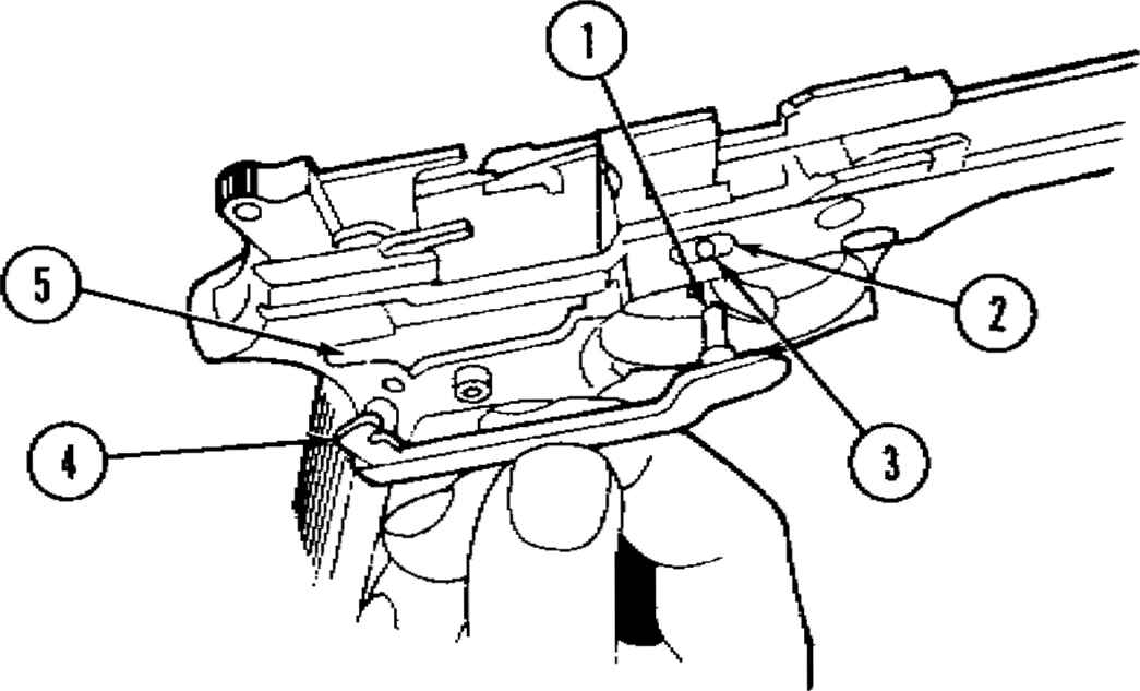 Beretta Pistol Diagram