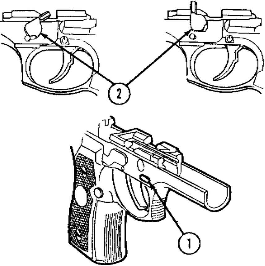 Beretta Pistol Assembly