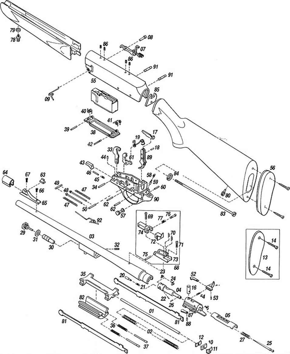 Browning Bar Schematics
