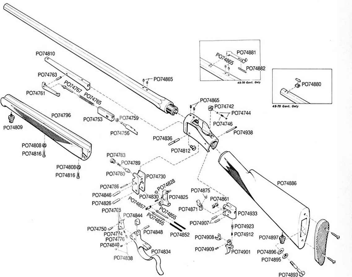 Schematic Single Shot Rifle