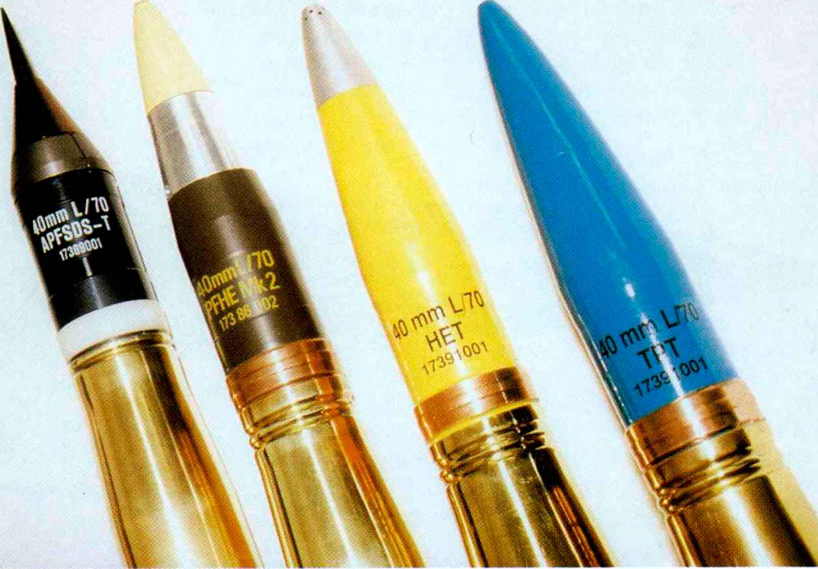 Twin 35mm Gdf 005 Ammunition