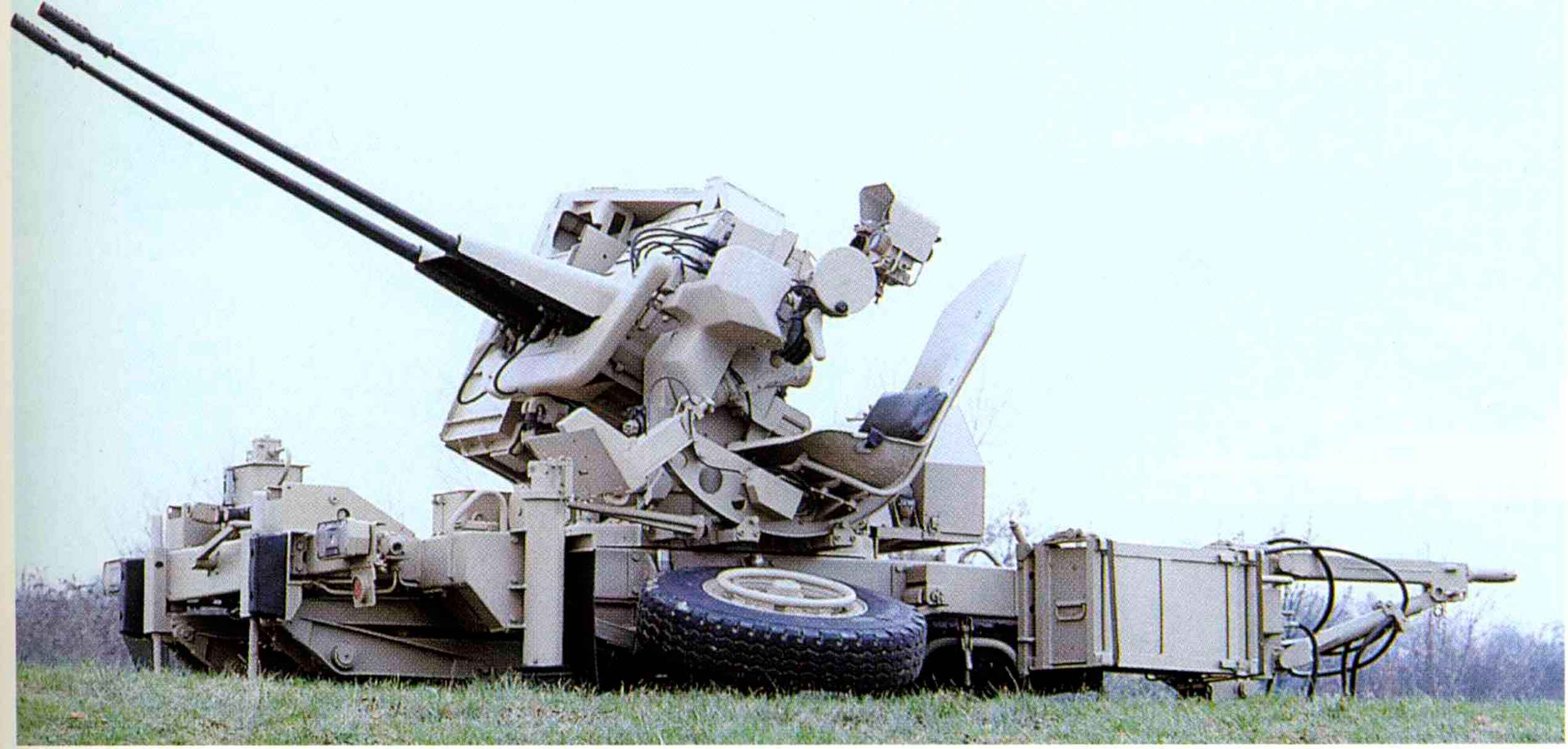 Modernised Bofors 40mm L60