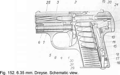 Browning 1906 Drawing