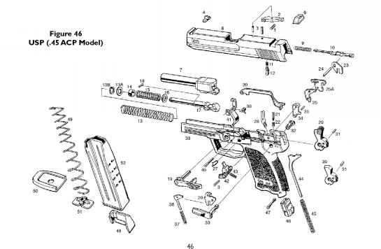 Usp 9mm Schematics