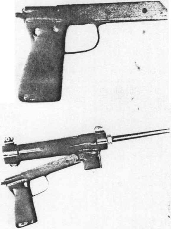 Submachine Blank Guns