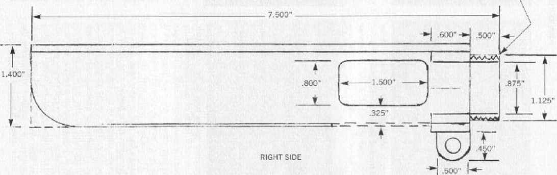 M79 Receiver Drawing