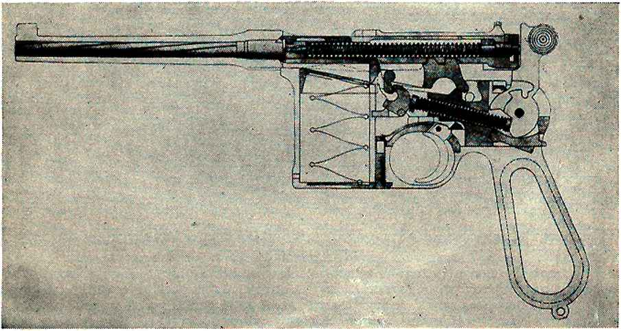 German Mauser Rifle