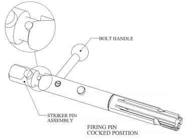 Firing Pin Bolt Action