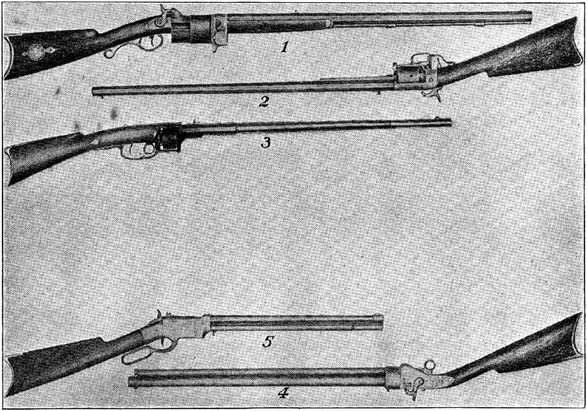 1855 Smith And Wesson Rifle