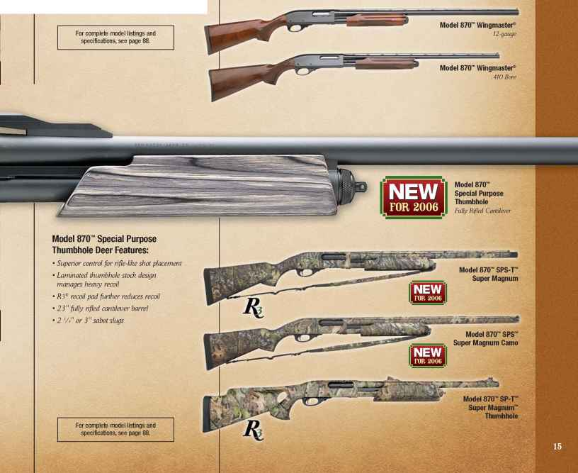 Dale Ernheart Remington 870 Wingmaster