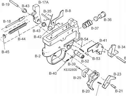 Ruger Trigger Guard Blueprints