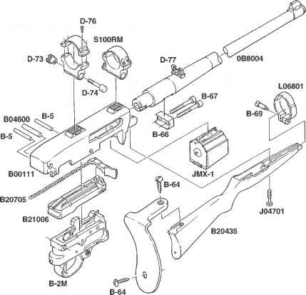 Ruger Carbine Schematic